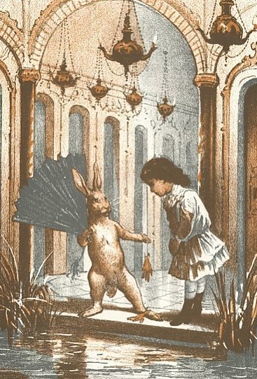 CARROLL: ALICE, 1890. Illustration by Eleonora Mann for Lewis Carroll's 'Alice's